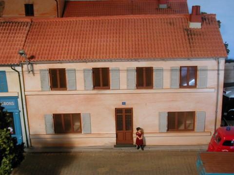 Fa ade la maison proven ale au 1 43 m451091 - Facade maison provencale ...