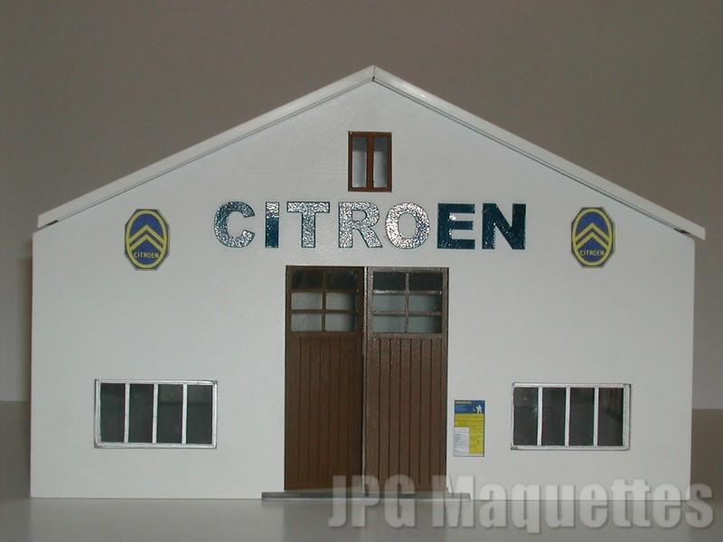 Fa ade garage sur pignon citroen for Garage citroen devis en ligne